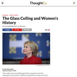 Glass Ceiling: An Invisible Barrier to Success