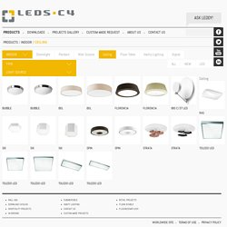 LED C4, the one stop ceiling solution for your interiors.