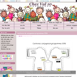 ceintures conjugaison - Chez Val 10