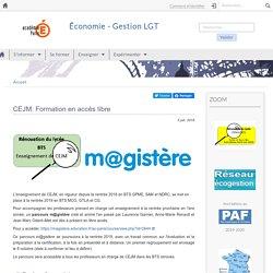 CEJM: Formation en accès libre