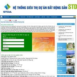Căn hộ Celadon City Tân Phú - Dự án Celadon City cao cấp - Hệ thống siêu thị dự án bất động sản STDA