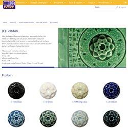 (C) Celadon : High Fire Glazes : Glazes & Underglazes