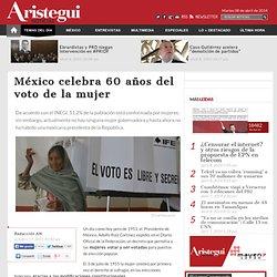 México celebra 60 años del voto de la mujer