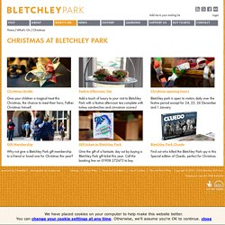 Celebrate Christmas at Bletchley Park