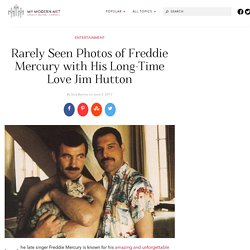 Candid Photos Celebrate the Love of Freddie Mercury and Jim Hutton