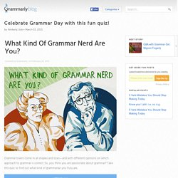 » Celebrate Grammar Day with this fun quiz!