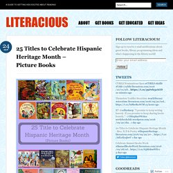 25 Titles to Celebrate Hispanic Heritage Month – Picture Books