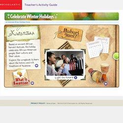 Celebrate Winter Holidays: Kwanzaa