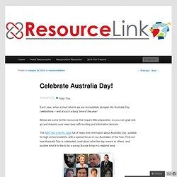 Celebrate Australia Day!