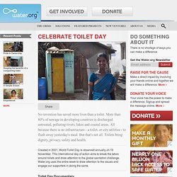 Celebrate Toilet Day