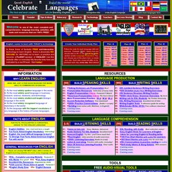 celebratelanguages.com/english