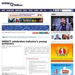 IMPACT celebrates industry's young achievers
