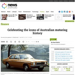 Celebrating the icons of Australian motoring history