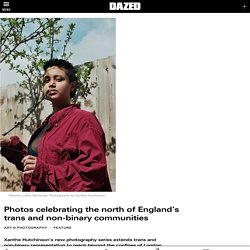 Photos celebrating the north of England's trans and non-binary communities