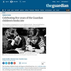 Celebrating five years of the Guardian children's books site
