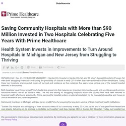 CEO of Prime Healthcare Prem Reddy, Saving Community Hospitals with More than $90 Million Investment