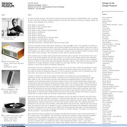Dieter Rams / Selector for 25/25 - Celebrating 25 Years of Design