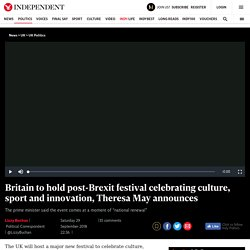 -festival-culture-innovation-sport-great-exhibition-queen-victoria - Brexit Day turned into 125 million 'Diversity Festival'