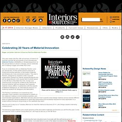 Celebrating 30 Years of Material Innovation
