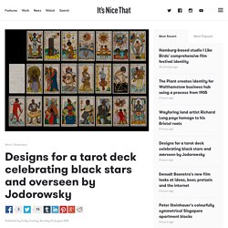 Designs for a tarot deck celebrating black stars and overseen by Jodorowsky
