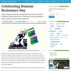Celebrating Romani Resistance Day