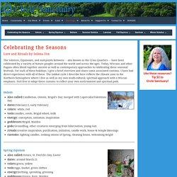 Celebrating the Seasons - Circle Sanctuary