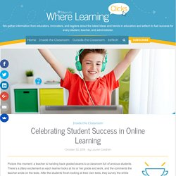 Celebrating Student Success in Online Learning