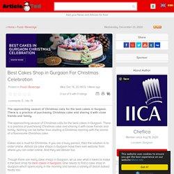 Online cake shop in Gurgaon