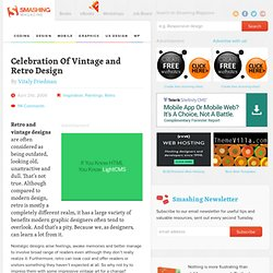 Celebration Of Vintage and Retro Design - Smashing Magazine