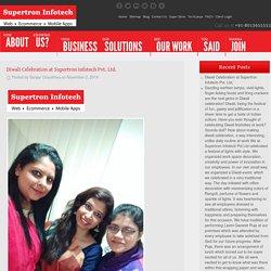 Diwali Celebration at Supertron Infotech Pvt. Ltd.