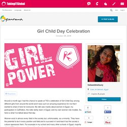 Girl Child Day Celebration - Panorama - Youth Media - TakingITGlobal