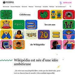 Célébration de 20 ans de Wikipédia – Fondation Wikimedia