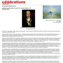 Célébrations nationales 2001 - Mort de William Turner