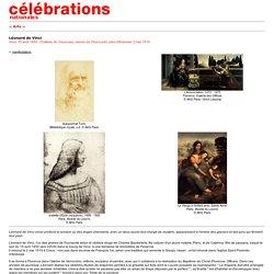 Léonard de Vinci Célébrations nationales 2002 -