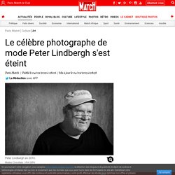 Peter Lindbergh, photographe mode