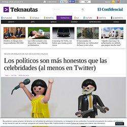 Los políticos son más honestos que las celebridades (al menos en Twitter) - Noticias de Tecnología