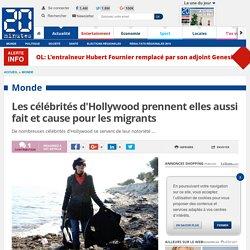 Les célébrités d'Hollywood prennent elles aussi fait et cause pour les migrants