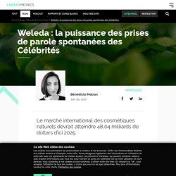 Weleda & Célébrités : quantifier la puissance de ce levier marketing
