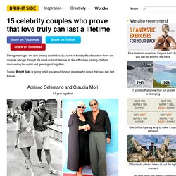 15 celebrity couples who prove that love truly can last a lifetime