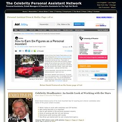 Celebrity domestic staffing: press & media