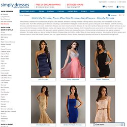 Prom Dresses, Bridesmaid Dresses, Evening Gowns- Simply Dresses