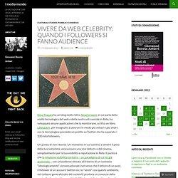 Vivere da web celebrity