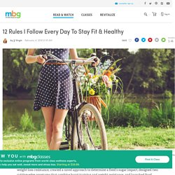 Celebrity Fitness Expert Shares Her Healthy Tips - mindbodygreen