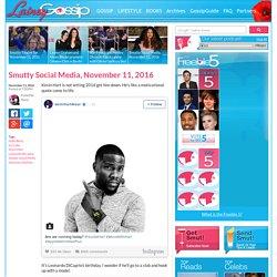 Celebrity Social Media Round-Up for November 11, 2016