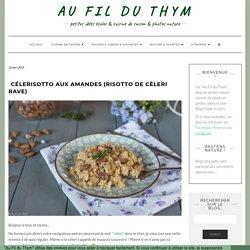 Célerisotto aux amandes