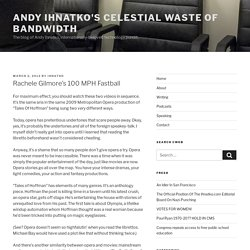 Andy Ihnatko's Celestial Waste of Bandwidth (BETA)
