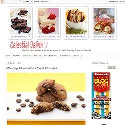 Chunky Chocolate Chips Cookies