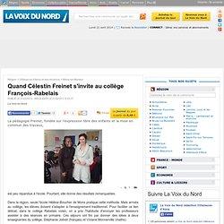 Quand Célestin Freinet s'invite au collège François-Rabelais - Articles locaux