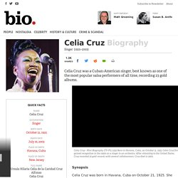 Celia Cruz Biography