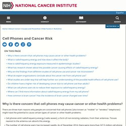 Cell Phones and Cancer Risk Fact Sheet